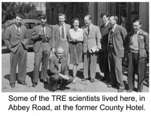The County Hotel became home to many radar and telecommunication scientists after 1942