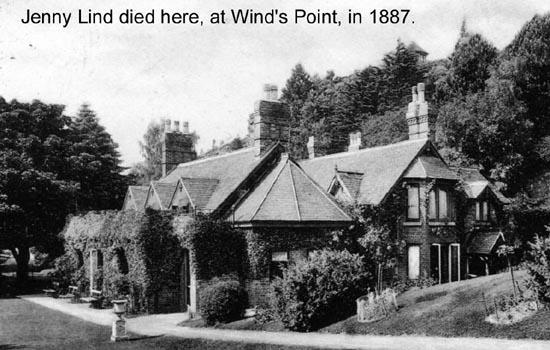 Wind's (or Wynd's Point) above Little Malvern