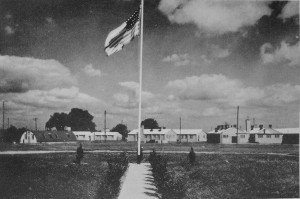 Photograph of 53rd General US Hospital 1944 at Merebrook Farm