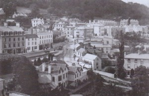 Photograph of Belle Vue Terrace from Priory Church tower