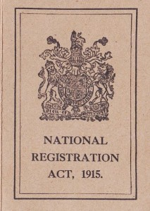 The cover of the Museum's National Registration Card