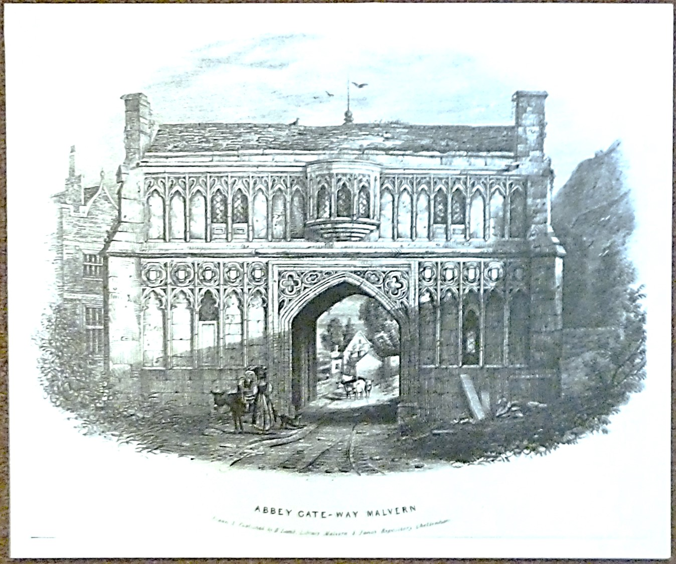 The museum has a large collection of prints, pictures, postcards and glass sides of the Malvern area